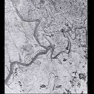 USGS TOPO Map Alabama AL Gilmore 303975 1975 24000 Inverted by wetdryvac