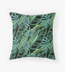 cool green  Throw Pillow