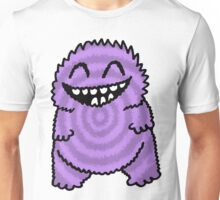 Purple Fuzz Monster Unisex T-Shirt