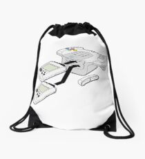 Classic Dreamcast Game Pad Drawstring Bag