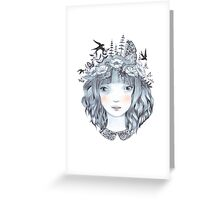 Back to my roots Greeting Card