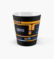 Captains Drink Coffee Tall Mug