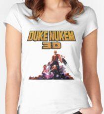 Duke 3D Women's Fitted Scoop T-Shirt