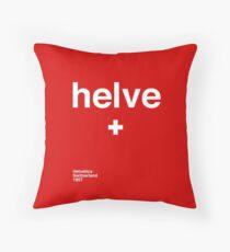 helve Throw Pillow