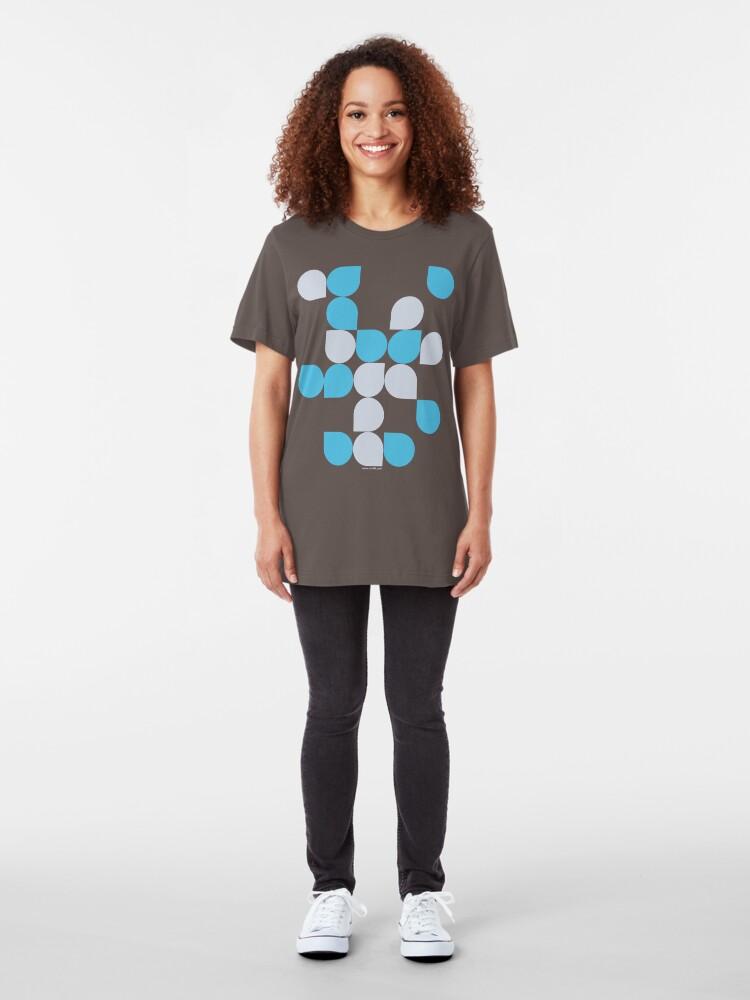 Alternate view of Bubbles 2 Slim Fit T-Shirt