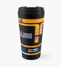 Captains Drink Raktajino Travel Mug