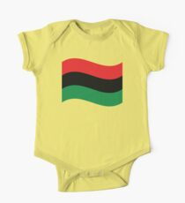 Red, Black & Green Flag Kids Clothes