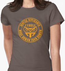 TYRELL CORPORATION - BLADE RUNNER (YELLOW) Womens Fitted T-Shirt