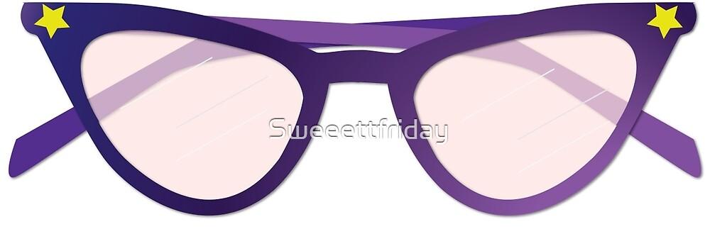 Geek Sheak, Purple Glasses by Sweeettfriday