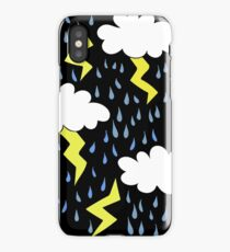 Storm Stormy weather iPhone Case