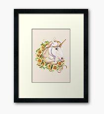 Unicorn Framed Print