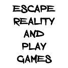 Entkomme der Realität und spiele Spiele von kijkopdeklok