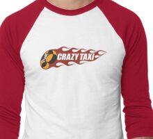 Crazy Taxi Logo Retro 16bit Men's Baseball ¾ T-Shirt