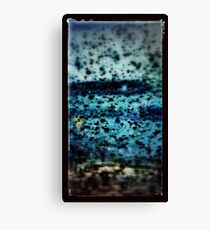 Blue Oil Canvas Print