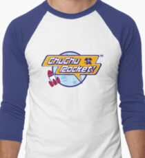Chu Chu Rocket Logo Retro Men's Baseball ¾ T-Shirt