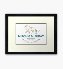 Mitch & Murray Framed Print