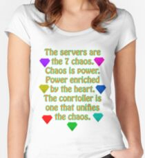 The Servers Women's Fitted Scoop T-Shirt