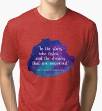 A Court of Mist and Fury - Watercolour Quote Tri-blend T-Shirt