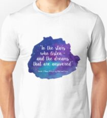 A Court of Mist and Fury - Watercolour Quote T-Shirt