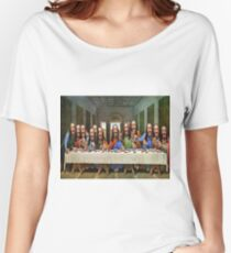Buddy Jesus- Last Supper Women's Relaxed Fit T-Shirt