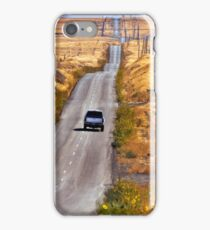 A Country Road in the Foothills Near Coalinga Oil Country iPhone Case/Skin