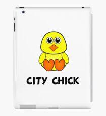 City Chick iPad Case/Skin