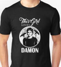 This Girl Loves Damon.  T-Shirt