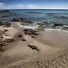 Beach with rocks by Alessandra Antonini