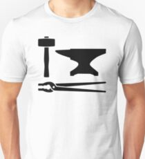 Blacksmith tools Unisex T-Shirt