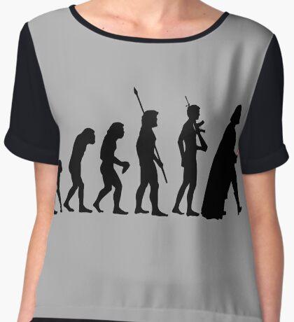 It's Evolution Baby! Women's Chiffon Top
