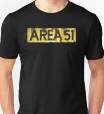 Camiseta unisex AREA 51 LOGOTIPO