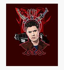 Dean Winchester - The Righteous Man Photographic Print