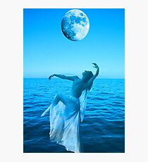 Moon Dance Photographic Print