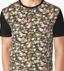 Candy Coloured Daisies Graphic T-Shirt