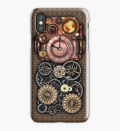 Infernal Steampunk Timepiece #2 Vintage Steampunk phone cases iPhone Case/Skin