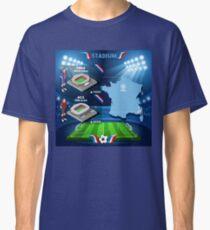 Paris Nice Stadium Infographics Classic T-Shirt