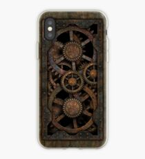 Infernal Steampunk Gears Vintage Steampunk phone cases iPhone Case