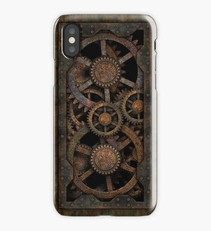 Infernal Steampunk Gears Vintage Steampunk phone cases iPhone Case/Skin