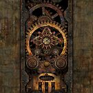 Infernal Steampunk Machine #2C Vintage Steampunk phone cases by Steve Crompton