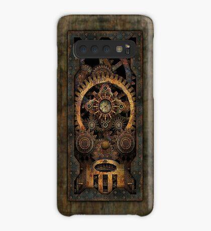 Infernal Steampunk Machine #2C Vintage Steampunk phone cases Case/Skin for Samsung Galaxy