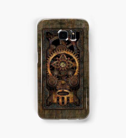 Infernal Steampunk Machine #2C Vintage Steampunk phone cases Samsung Galaxy Case/Skin