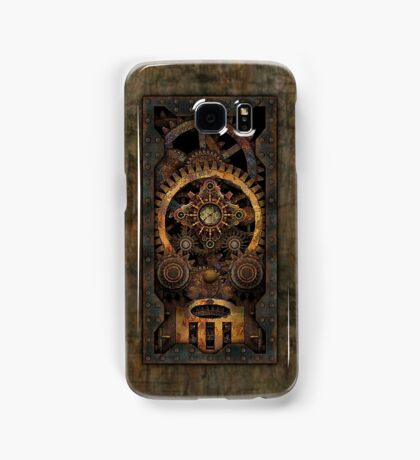 Infernal Steampunk Machine #2C Vintage Steampunk phone cases Samsung Galaxy Case/Skin