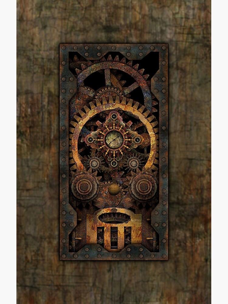 Infernal Steampunk Machine #2C Vintage Steampunk phone cases by SC001
