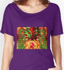 DRAGON FIRE Women's Relaxed Fit T-Shirt