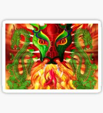 DRAGON FIRE Sticker