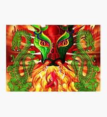 DRAGON FIRE Photographic Print