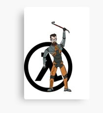 Gordon Freeman Canvas Print