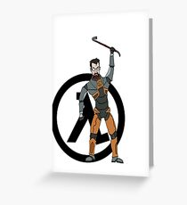 Gordon Freeman Greeting Card