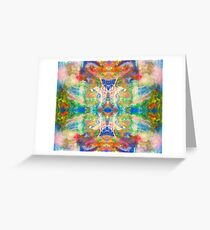 Spirit Dream ink Vibrant Colors Greeting Card