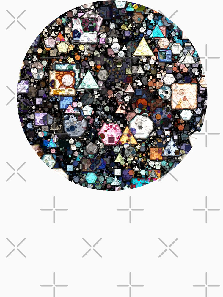 Coloridas capas de formas geométricas de perkinsdesigns
